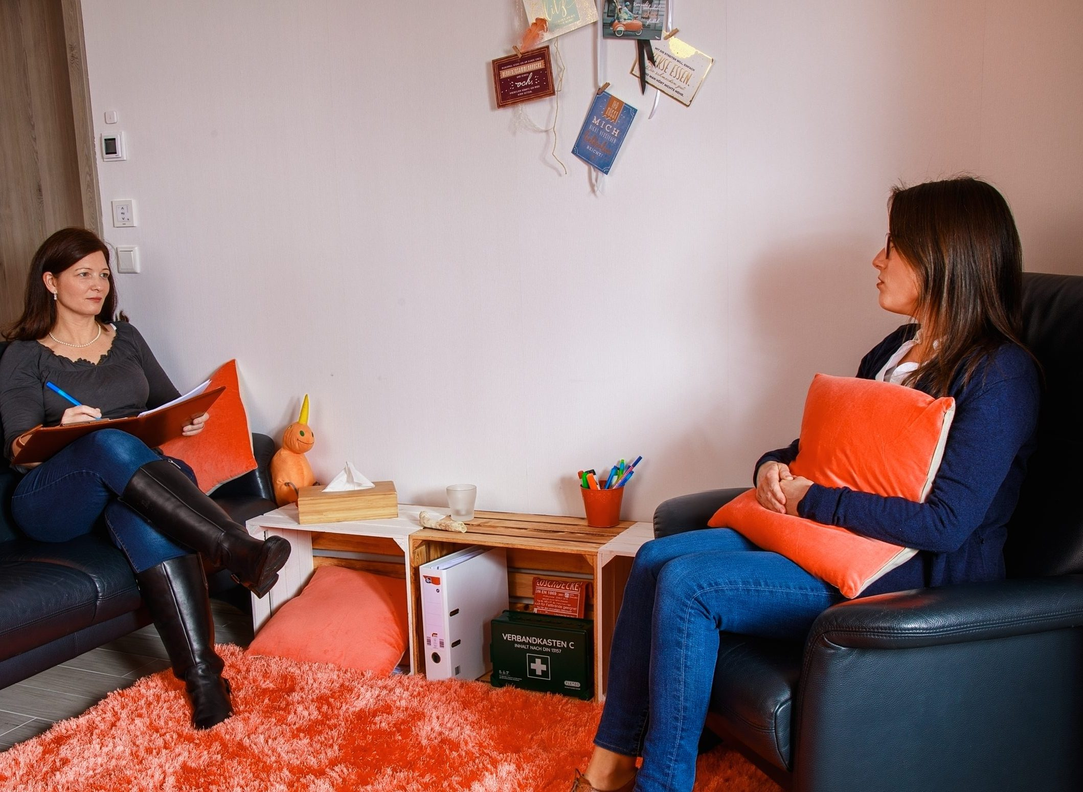 Einblick in die Psychotherapeutische Praxis nach dem Heilpraktikergesetz in Steinfurth